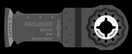 BIM INVALZAAGBLAD HOUT & METAAL 32 X 50 - 1.3MM
