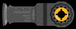 HCS INVALZAAGBLAD HOUT 32 X 50 - 1.4MM
