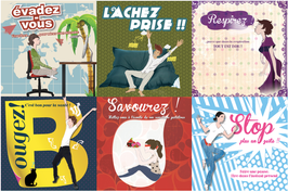 La collection des Pause'Card :