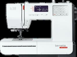Bernette 38 Het betaalbare topmodel van de bernette serie naaimachines, met een breed assortiment aan functies