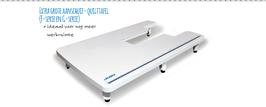 Extra grote aanschuif- quilttafel (HZL-H serie)