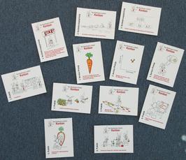 Kanbunny-Postkartenserie