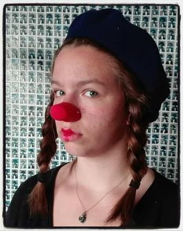 BONNIE - nez de clown  / clown nose