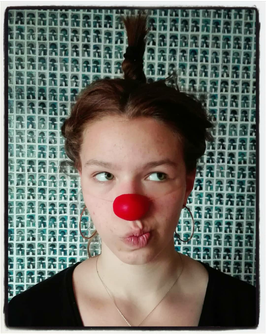 Anouk - nez de clown  / red clown nose