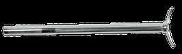Sattelstütze 22,2mm chrome Standard