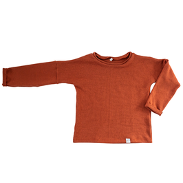 NIEUW - Trui knit burnt orange