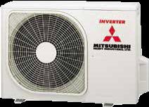 SRK-ZMP Wandmodel Inverter Intérieure/Extérieure
