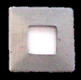 Rondelle carrée pour comtoise