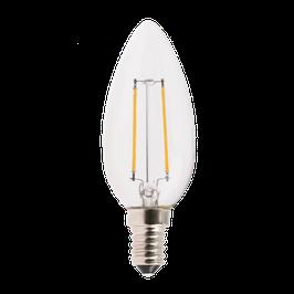 2 Watt E14 Filament Lampe