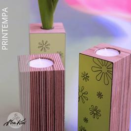 Vase/Kerze PRINTEMPA