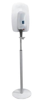 Contactloze Desinfectiemiddel Dispenser met optioneel; In hoogte verstelbare standaard