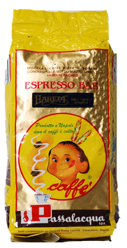 "Passalacqua ""Harem"" in ganzen Bohnen 1kg"