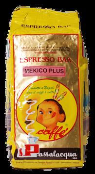 "Passalacqua ""Mekico Plus"" in ganzen Bohnen 1 kg"