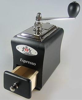"""Zassenhaus Espressomühle """"Santiago"""" Buche schwarz"""