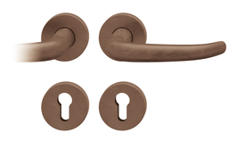 FSB 10 1023 - 07 - Bronze-Rosettengarnitur / Max Bill / Redesign Johannes Potente