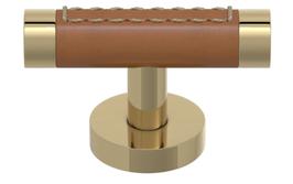 Turnstyle Möbelknopf R1026 mit sichtbarer Naht