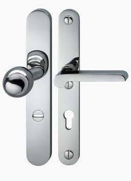 Bauhaus Sicherheits- Langschildgarnitur KNO KA WAG 26-06 RL ES2/FH