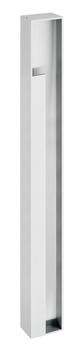 JNF Schiebetürmuschel/Griff 16.302.M4   75 x 1120 mm