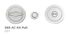 """ALFREDO PORRO 589 AC 60 WC/Bad  """"Kit Pull"""" - Griffmuschelset mit magnetisch verschlossener Front"""