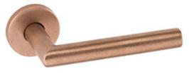 JNF TIMES 30.NB8 Bronze-Rosettengarnitur    RAW / ROH getrommelt   /  Nicht poliert