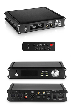 MATRIX QUATTRO (ADVANCED) - DSD 384kHz DAC DIGITAL ANALOG CONVERTER - USB D/A WANDLER MIT FB