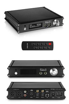 MATRIX QUATTRO (ADVANCED) - DSD 384kHz DAC DIGITAL ANALOG CONVERTER - USB D/A WANDLER MIT FB