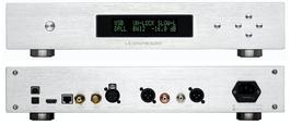 L.K.S. MH-DA004 - DSD 512 DAC DIGITAL ANALOG CONVERTER - USB D/A WANDLER - INCL. AMANERO USB UPGR. SILVER