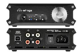 MATRIX M-STAGE HPA-3U KOPFHÖRERVERSTÄRKER HEADPHONE USB DAC D/A WANDLER