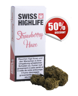 "Swisshighlife ""Strawberry Haze Indoor"""