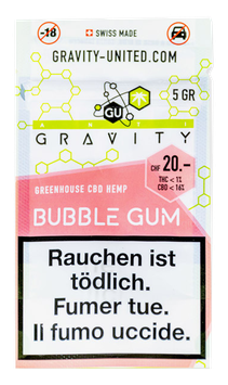 "Gravity-United ""Bubble Gum Greenhouse"""