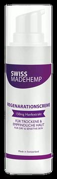 "CBD Regenerationscreme ""Swissmadehemp"""