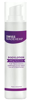 "CBD Körperlotion ""Swissmadehemp"""