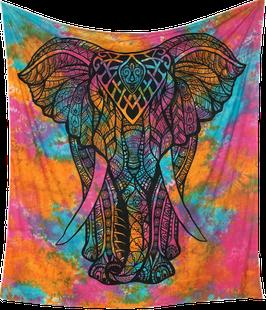 """indisches Dekotuch """"Elephant"""""""