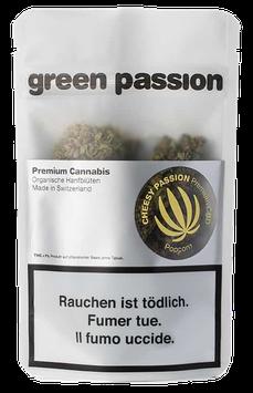 "Green Passion ""Cheesy Indoor Popcorn"""