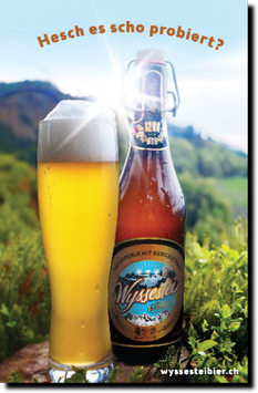 "Bier ""Wyssestei"""