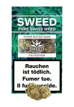 "Sweed ""Silver Haze Indoor"""