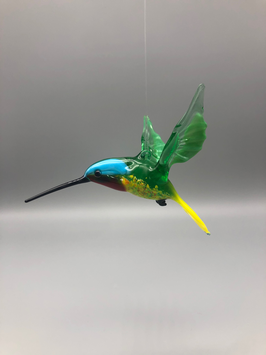 HUMMINGBIRD IN BLUE/GREEN/YELLOW