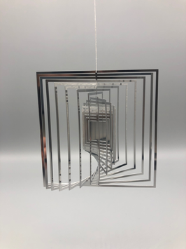 stainless steel spiral - square