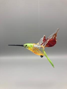 HUMMINGBIRD IN GREEN/RED/GREEN