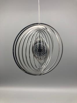 stainless steel spiral - round