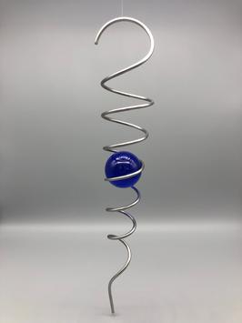 ball spiral - cobalt blue