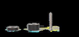 Stellfüße-Set klein