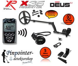 XP DEUS X35 28 RC WS4 (Komplettset)