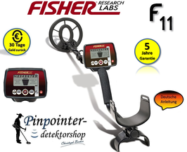 Fisher F11 Metalldetektor