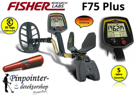 Fisher F75 Metalldetektor