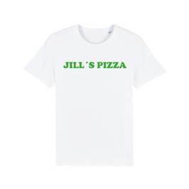 "WHITE ""JILL'S PIZZA"" T-SHIRT GRÜN"