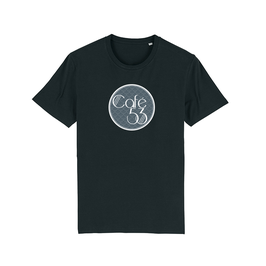 "BLACK ""CAFE 53"" LOGO T-SHIRT"