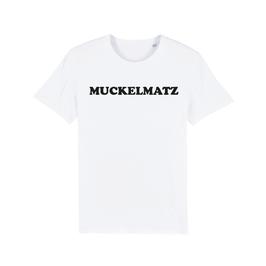 """WHITE """"MUCKELMATZ"""" T-SHIRT SCHWARZ"""