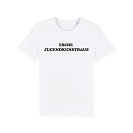 """WHITE """"ESCHE JUGENDKUNSTHAUS"""" T-SHIRT SCHWARZ"""