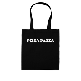 """PIZZA PAZZA"" SHOPPING BAG"